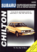 Subaru Brat, ff-1, 1300, 1400, 1600, 1800 Repair Manual 1970-1984