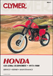 Honda Elsinore CR125, MT125, MR125, CR250, CR250R, MR250, MT250 Repair Manual 1973-1980