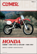 Honda CR80R 1989-1996, CR125R 1989-1991 Repair Manual