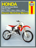 Honda CR80R/RB, CR85/RB, CR125R, CR250R, CR500R Repair Manual 1986-2007