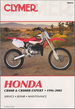 Honda CR80R, CR80RB Expert Repair Manual 1996-2002