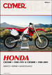 Honda CR250R 1988-1991, CR500R 1988-2001 Repair Manual
