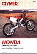 Honda CR250R Repair Manual 1997-2001
