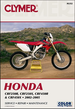 Honda CRF250R, CRF250X, CRF450R, CRF450X Repair Manual 2002-2005