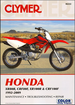 Honda XR80R, CRF80F, XR100R, CRF100F Repair Manual 1992-2009