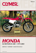 Honda XL125, XL185, XL200, XR185, XR200, TLR200 Repair Manual 1979-2003