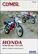 Honda XL500, XR500, XL600, XR600 Repair Manual 1979-1990