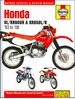 Honda XL600R, XR600R, XR650L, XR650R Repair Manual 2000-2007
