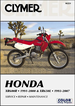 Honda XR600R 1991-2000, XR650L 1993-2007 Repair Manual