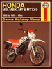 Honda MB, MBX, MT, MTX50 Repair Manual 1980-1993