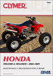Honda TRX450R, TRX450ER ATV Repair Manual 2004-2009