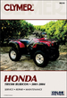 Honda TRX500 Rubicon Repair Manual 2001-2004
