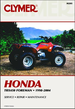 Honda TRX450 Foreman Repair Manual 1998-2004