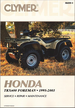 Honda TRX400, TRX400FW Foreman ATV Repair Manual 1995-2003