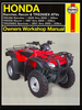 Honda TRX350 Rancher, TRX250 Recon, TRX250 Sportrax ATV Repair Manual 1997-2009