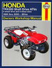 Honda TRX300 Fourtrax 300, TRX300FW ATV Repair Manual 1988-2000