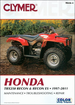 Honda TRX250 Recon, TRX250 Recon ES ATV Repair Manual 1997-2011
