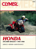 Honda ATC250R Single ATV Repair Manual 1981-1984