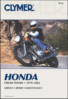 Honda CB650 Fours Repair Manual 1979-1982