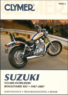Suzuki Intruder VS1400, Boulevard S83 Repair & Service Manual 1987-2007