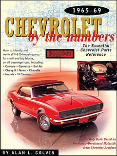 Chevrolet By The Numbers 1965-1969; chevrolet vin numbers