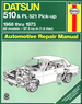 Datsun 510, PL521 Pick-up Repair Manual 1968-1973