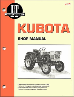 Kubota Tractor Repair Manual L175, L210, L225, L225DT, L260, B5100D, B5100E, etc.
