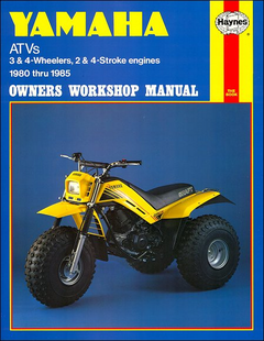 Yamaha YT60/175, YTM200/225, YTZ250 Repair Manual 1980-1985