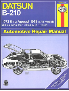 Datsun B-210 Repair Manual 1973-1978