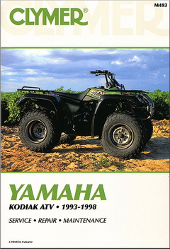 Yamaha Kodiak YFM400 ATV Repair Manual 1993-1998