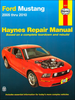 Ford Mustang Haynes Repair Manual 2005-2010
