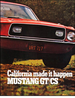 1968 Mustang GT/CS California Special Sales Brochure
