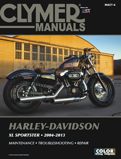 Harley-Davidson Sportster XL883, XL1200 Repair Manual 2004-2013