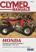 Honda TRX400EX Fourtrax, Sportrax and TRX400X ATV Repair Manual 1999-2013