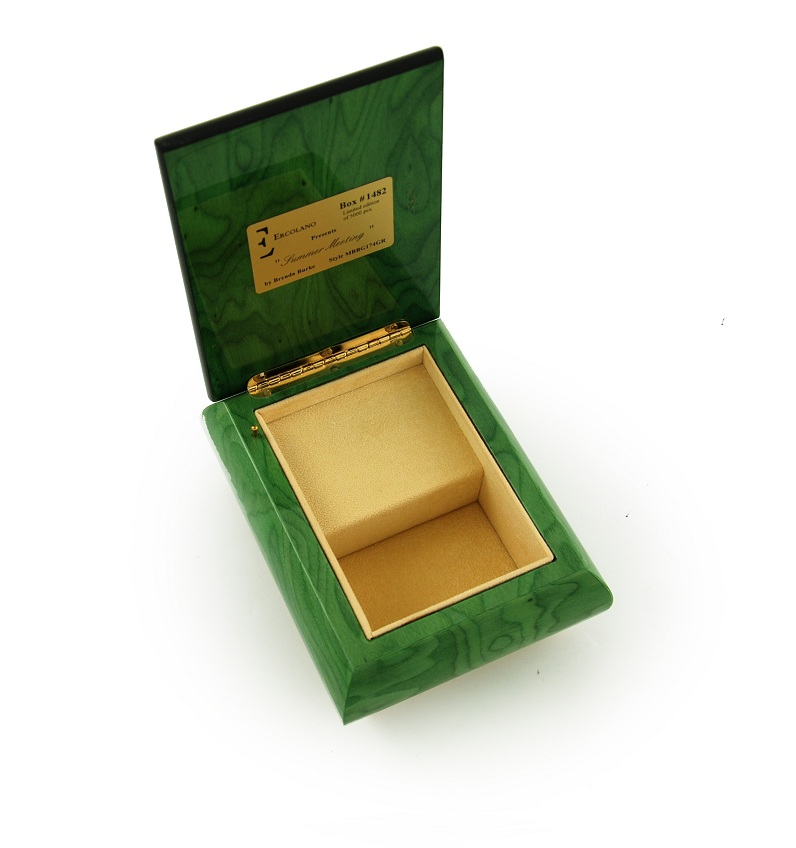 alluring forest green ercolano jewelry box quot summer