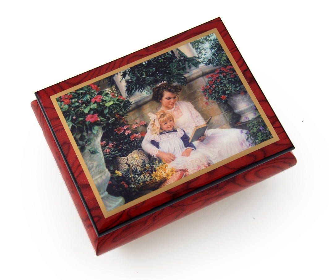 Very Special Radiant Mother Ercolano Music Box -