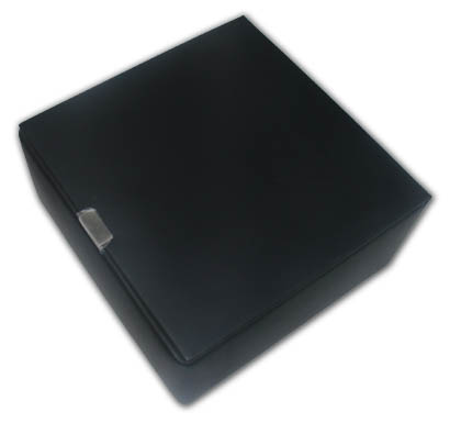 Sleek Mens Valet Box With Accessories with Click here to purchase engraving services-Do not provide an engraved plaque