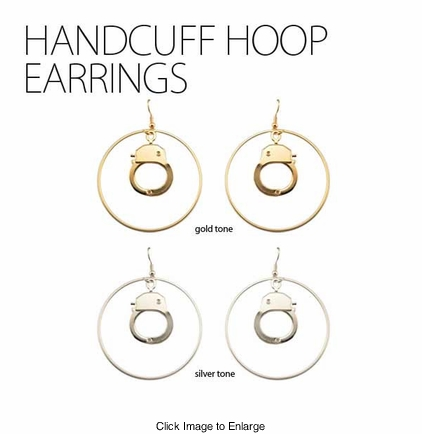 Handcuff Hoop Earrings