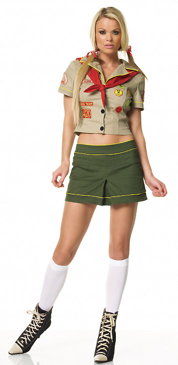 Camper Girl Scout Leader Costume