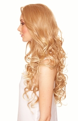 Heat Friendly Lace Front Wig with Long Glamour Curls and Great Volume
