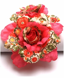 "5"" Wide Flower Jaw Hair Clip (available in 6 colors)"