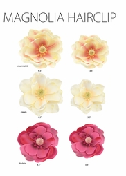 SALE Flower Hair Clips