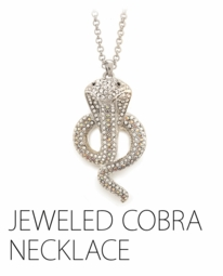 Retro Style Cobra Necklace