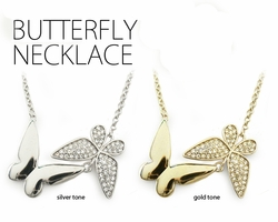 Designer Butterfly Necklace