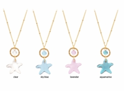 Designer Crystal Star Necklace