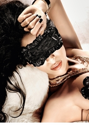 Black Satin Sleep Mask