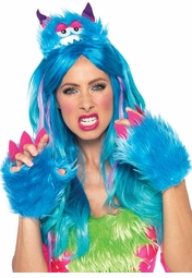 2-Piece Scary Barry Furry Monster Kit Headband and Paws