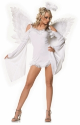 Heavenly White Angel Costumes