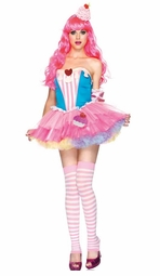 4-Piece Sugar And Spice Cupcake Katy Perry Inspired Costume