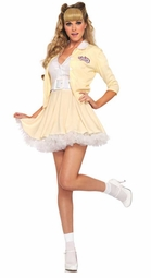 2-Piece Sandy from Grease Licensed Costume